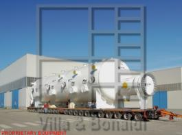 Ammonia unitized chiller with multi-stream design and low temperature carbon steel tubes for an ammonia plant in Brazil