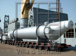 Crude methanol trim condenser with stainless steel tubes for a methanol plant in Trinidad and Tobago